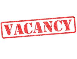 Vacancies – 2020
