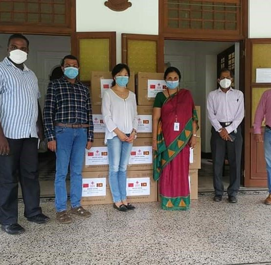 Chinese Embassy in Sri Lanka Donated 11,000 medical masks to University of Colombo – 27th May